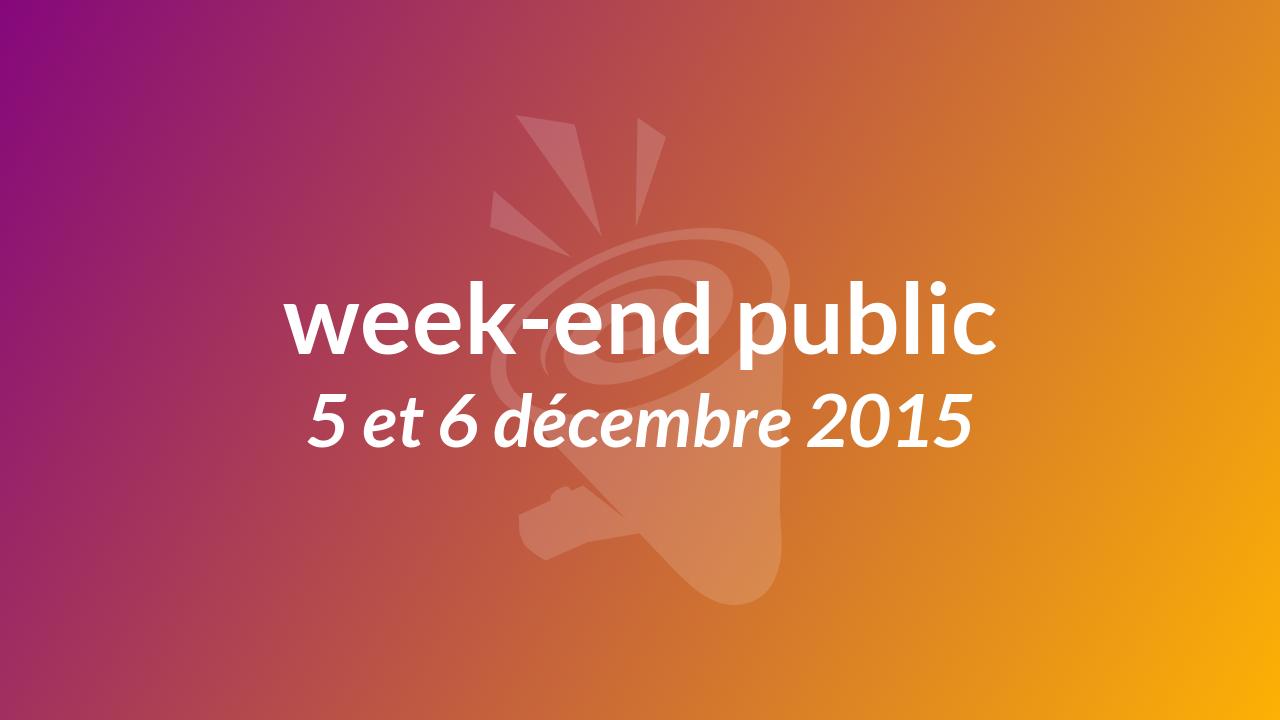 RadioKawa en public, les 5 et 6 décembre 2015
